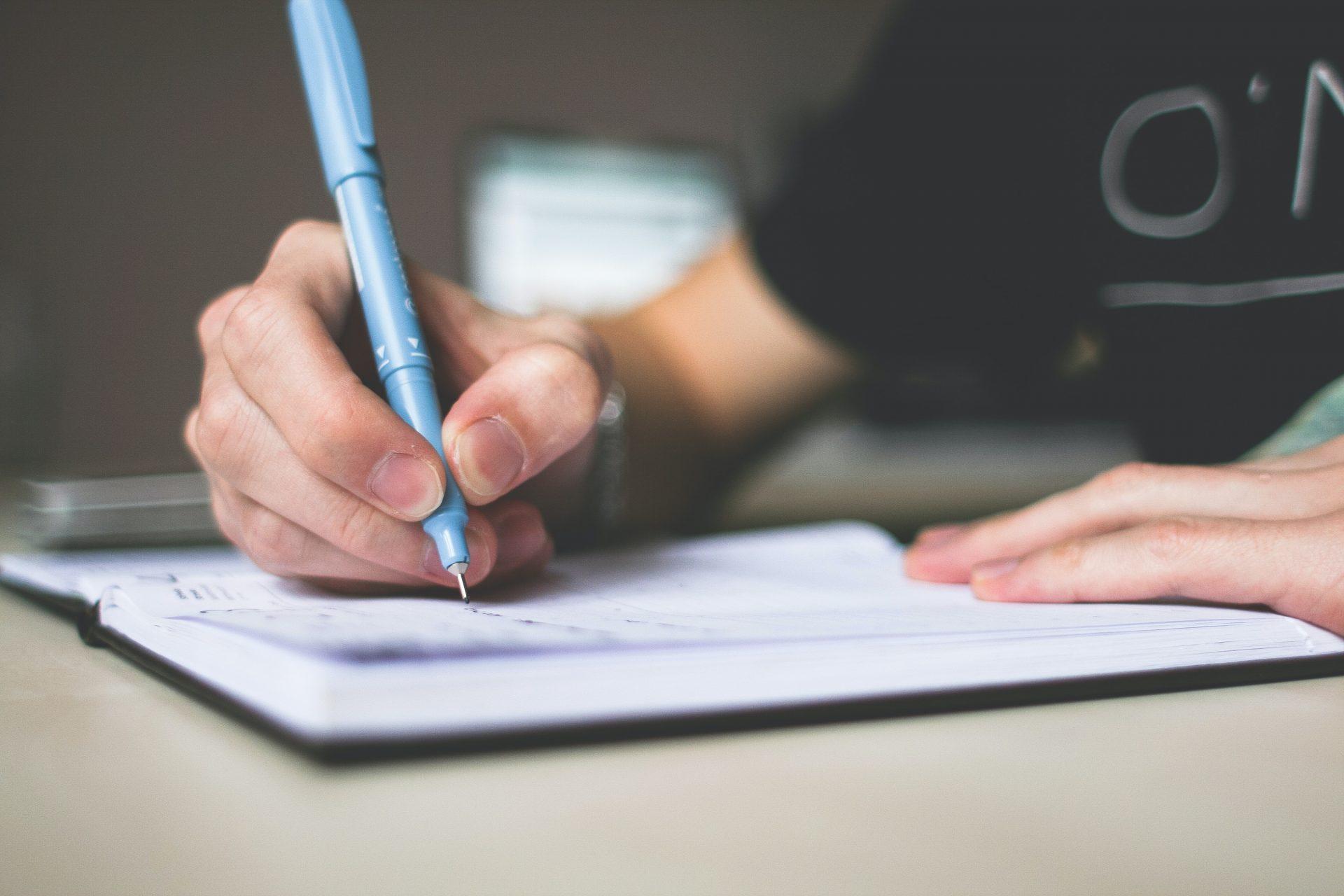 Volver a usar lápiz y papel para ser más productivos