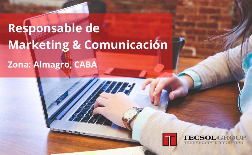 Responsable de Marketing & Comunicación