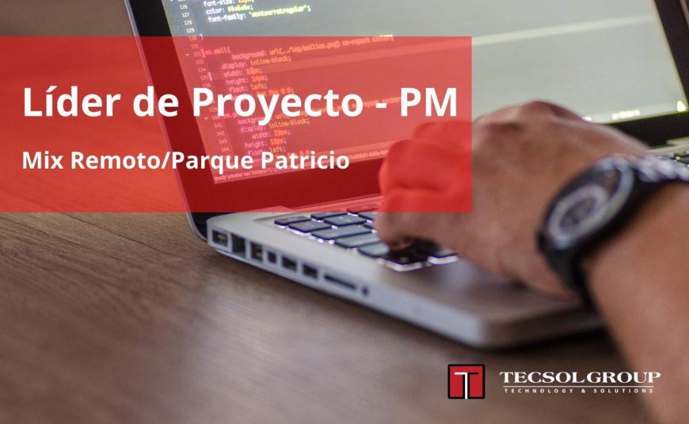 Líder de Proyecto – PM