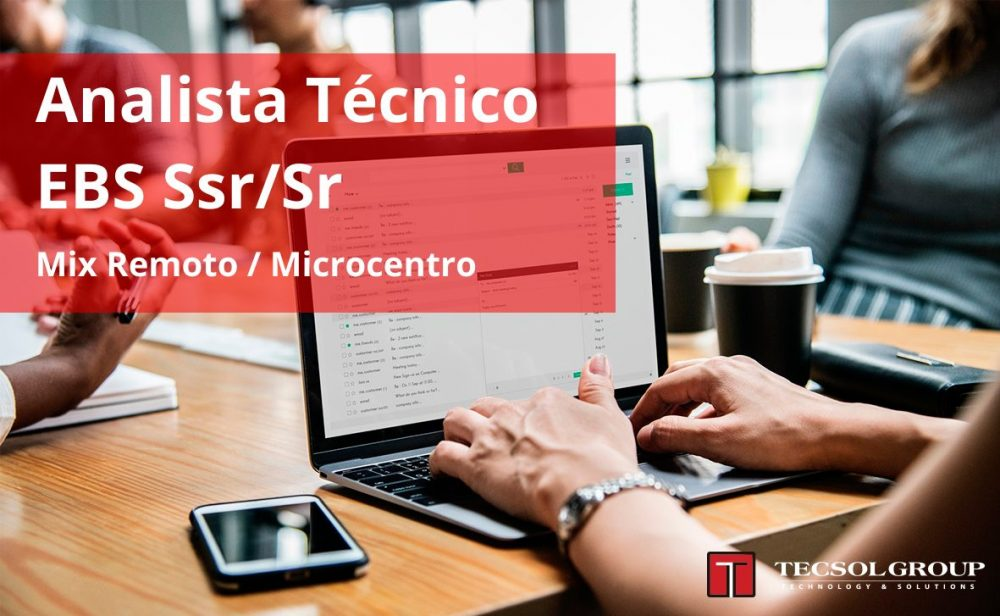 Analista Técnico EBS Ssr/Sr