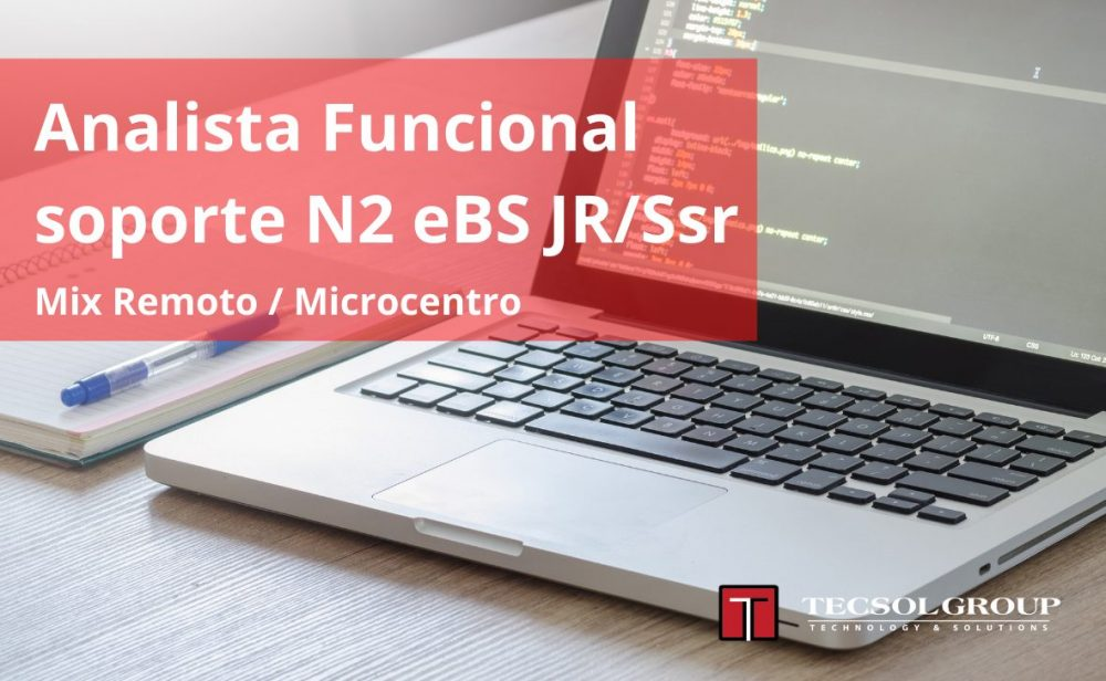 Analista Funcional soporte N2 eBS JR/Ssr