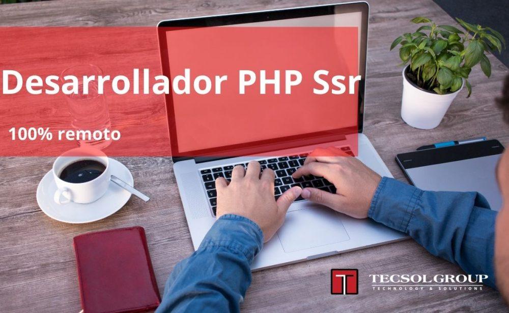 Desarrollador PHP Ssr