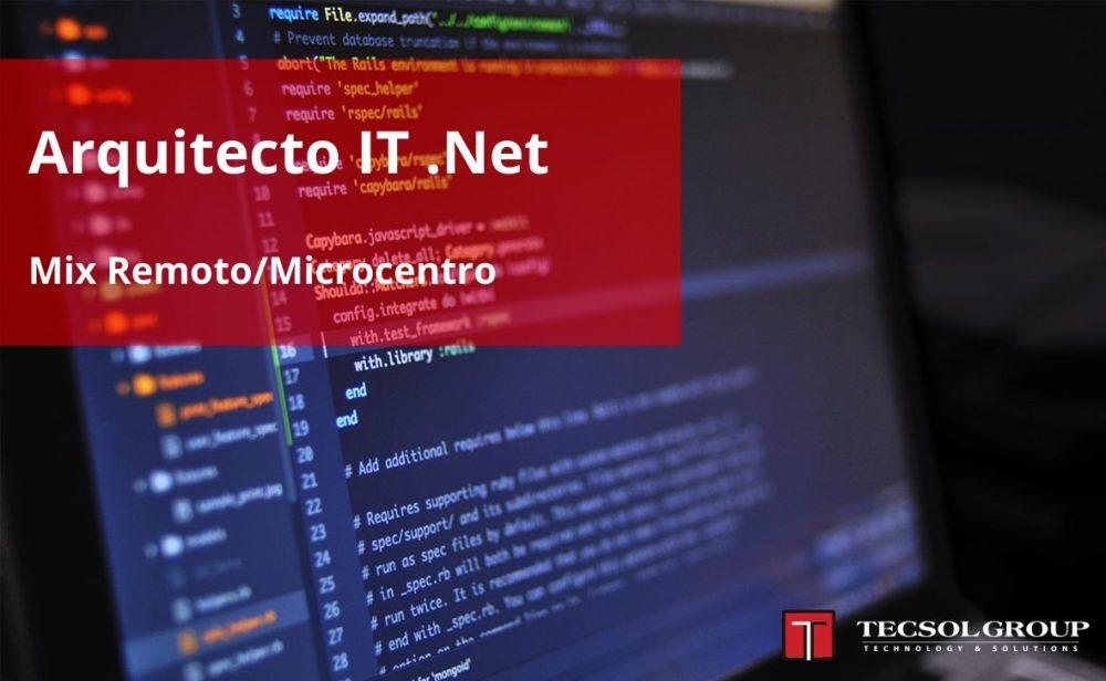 Arquitecto IT .Net