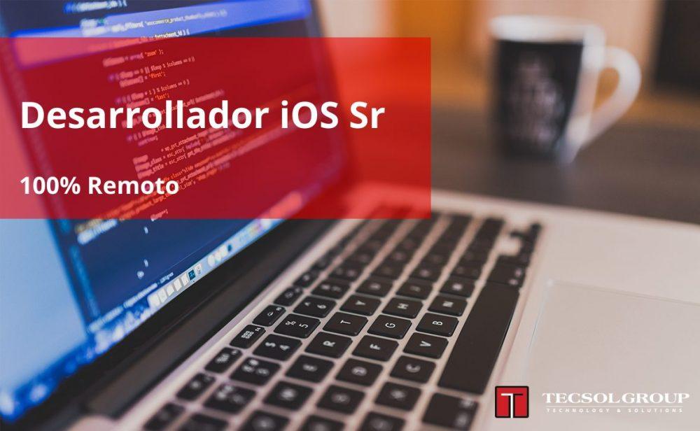 Desarrollador iOS Sr